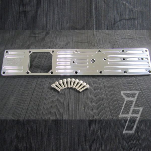 99-02 Cummins 5.9L Billet Intake Plate Polished PDM By Industrial Injection
